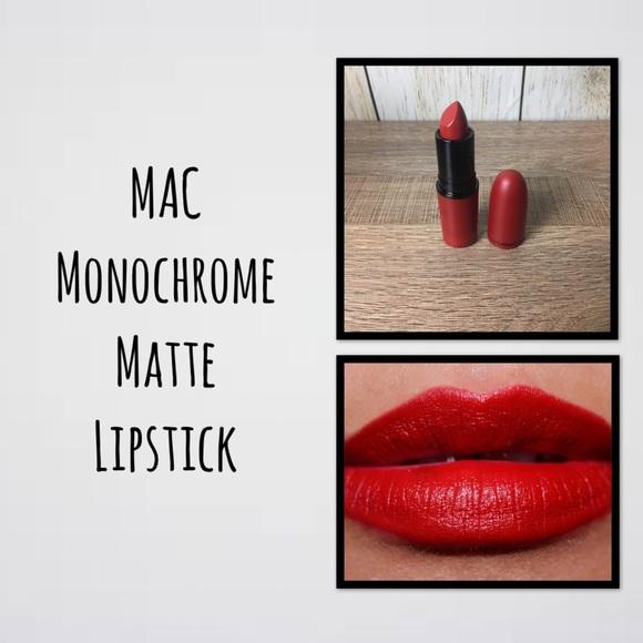 MAC Cosmetics Other - MAC Monochrome Matte Lipstick